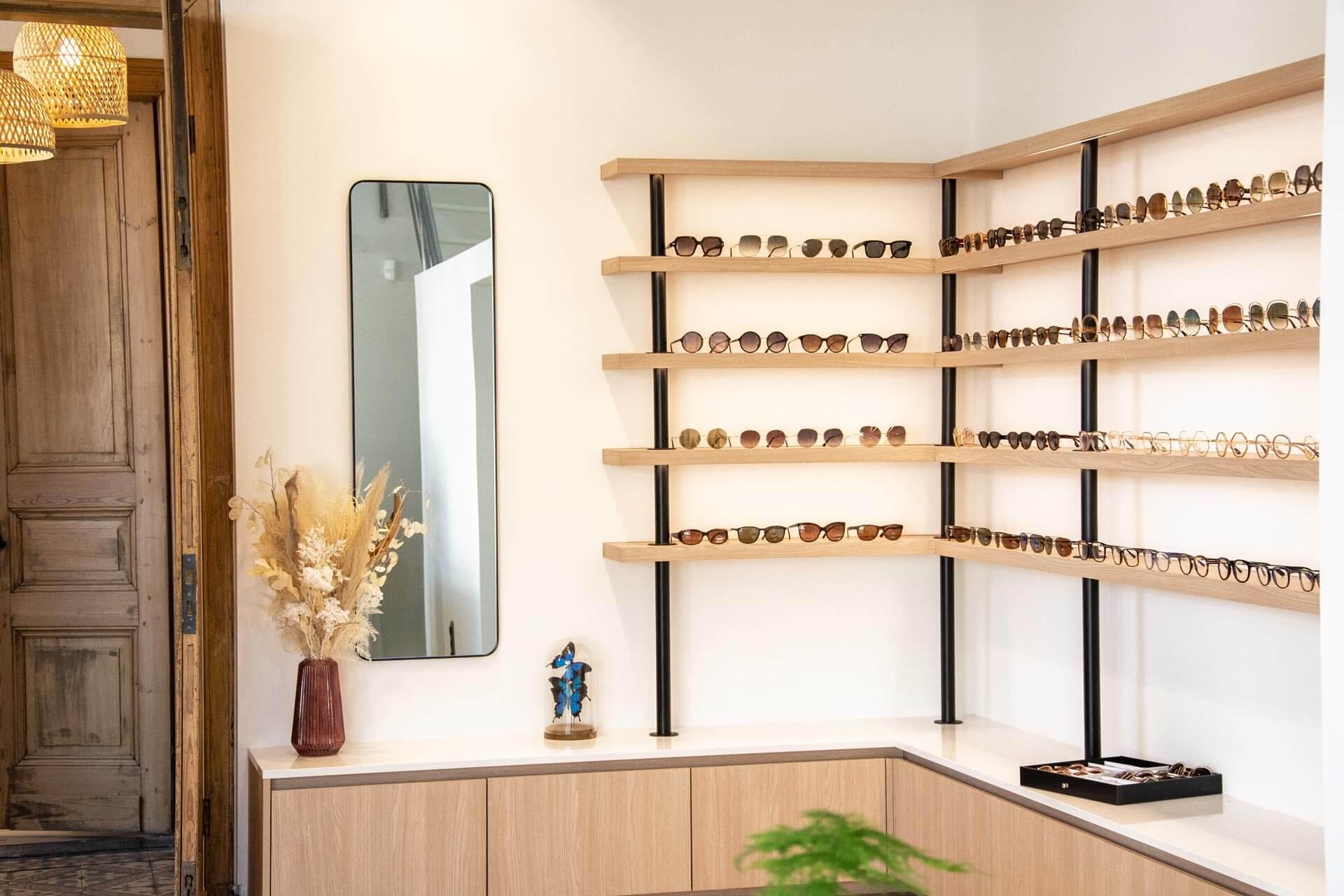 Maatkast Brillenwinkel
