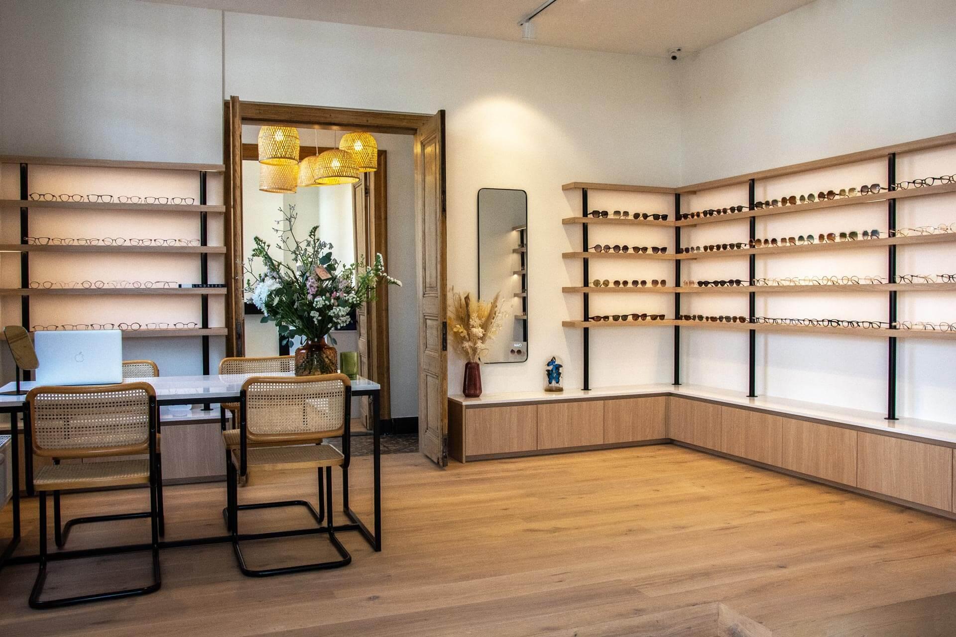 Maatkast Brillenwinkel 2